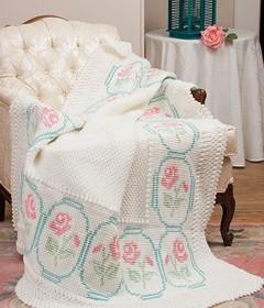 Hope Rose Afghan