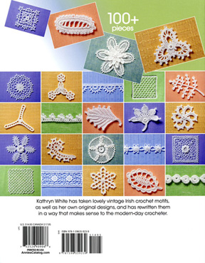 back cover of Irish Crochet book