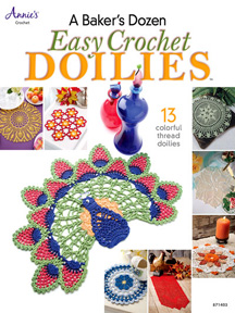 A Baker's Dozen Easy Crochet Doilies book cover