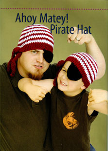 Ahoy Matey Pirate Hat