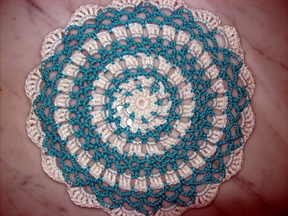 Carol's Beginner's First Doily