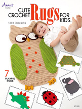 Cute Crochet Rugs for Kids front cover