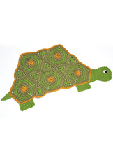 Granny Shell Turtle Rug