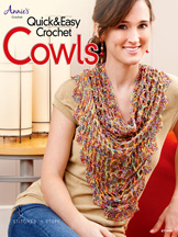 Quick & Easy Crochet Cowls front cover