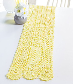 Sunbeam Bruges Lace Table Runner