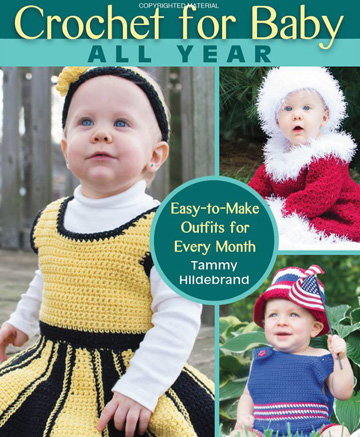 Crochet for Baby All Year front cover