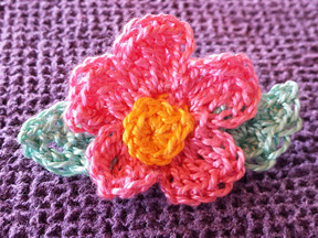 Patty's Flower Pin