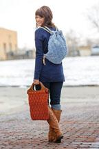 Celtic purse & backpack