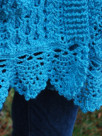 Doolin Delight Sweater Wrap edging