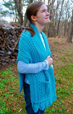Doolin Delight Sweater Wrap front
