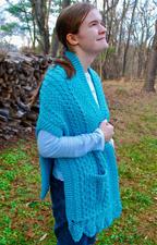 Doolin Delight Sweater Wrap front
