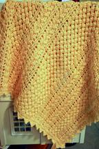 Hialeah Honey Baby Blanket