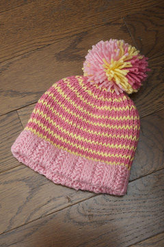 Sherbet Stripes Hat