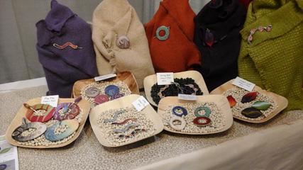 Bonnie Bishoff's shawl pins