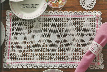 Valentine Placemat Set