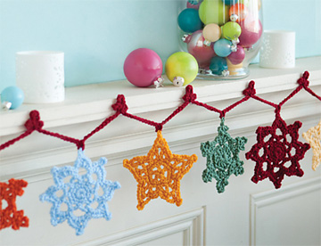 Snowflake Garland from Nov/Dec 2011 issue of Crochet Today magazine