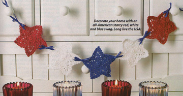 Star Swag from June 2008 issue of Crochet World magazine