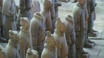 Terra Cotta Warriors close up