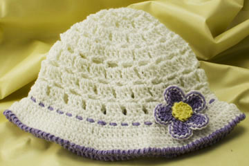 Baby Sun Hat Large 1 The Crochet Architect