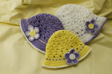 7430c4356d1 New Crochet Hat Pattern for Babies!