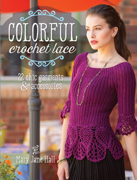 Colorful Crochet Lace book