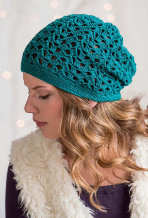 Slouchy Hat side view