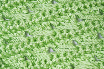 Luck o' the Irish Scarf close up