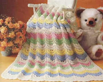 Mom's Favorite Baby Afghan pattern