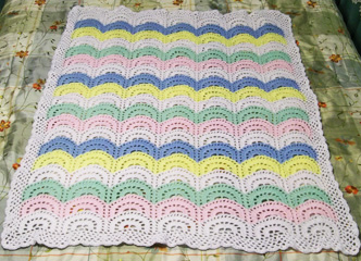 Baby Blanket by Mom and Me