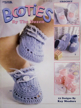 Booties by the Dozen crochet book