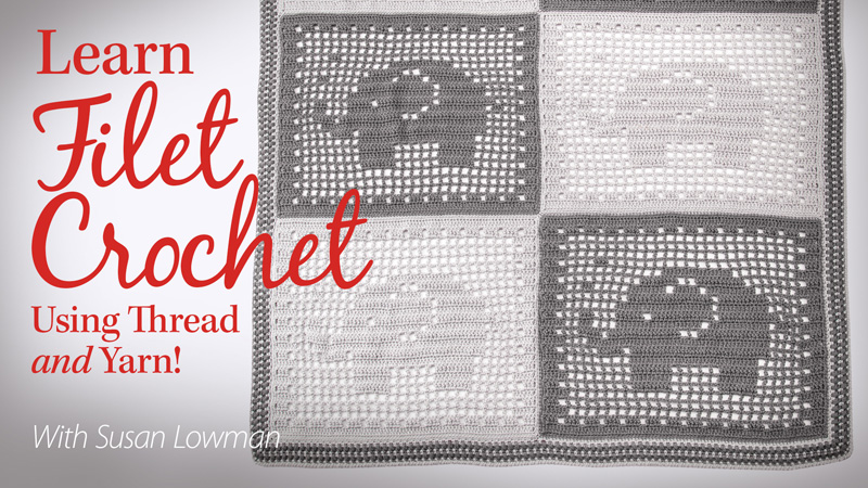Another New Annies Video The Crochet Architect