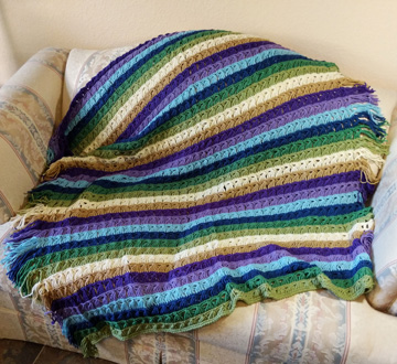 broomstick lace afghan