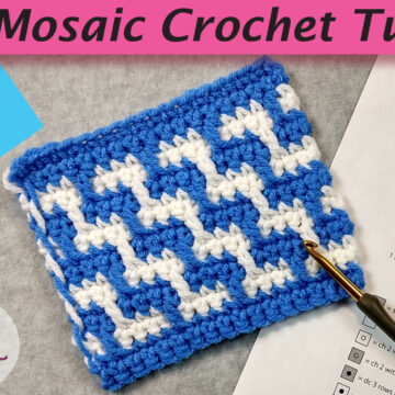 Inset Mosaic Crochet video