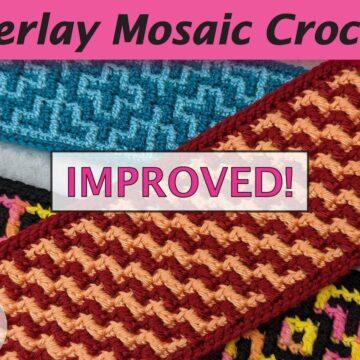 mosaic crochet video