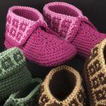 Crochet Family Slippers