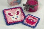 Wiggly Easter Hot Pad & Coaster