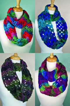 One-Skein Cowls smaller