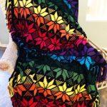 Snowflakes Crochet Afghan