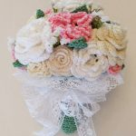 crochet bridal bouquet